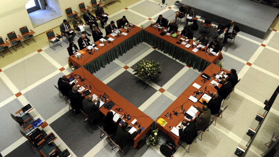 Zasedání ministrů obrany V4