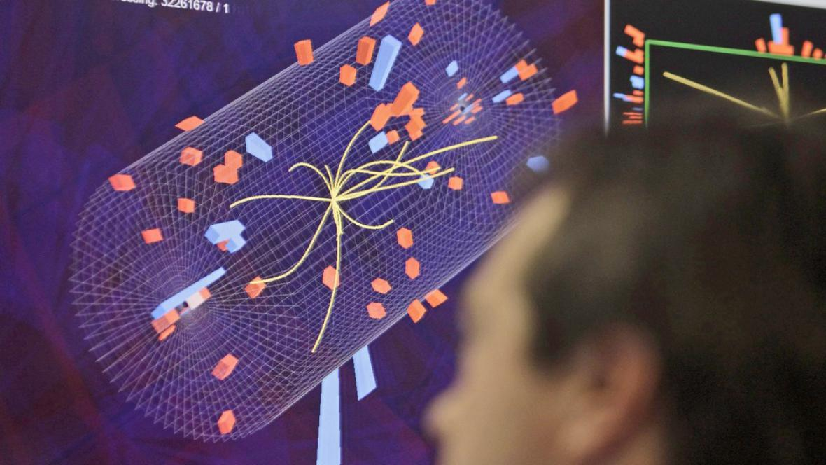 Vědec v CERNu