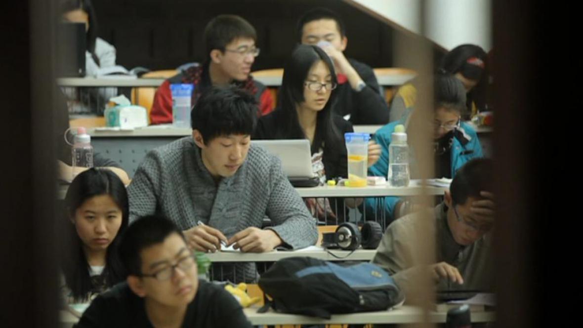 Čínští studenti
