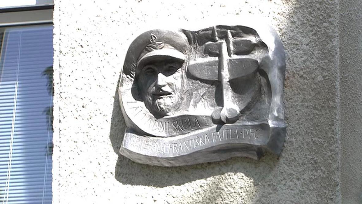 Pamětní deska generála Františka Fajtla