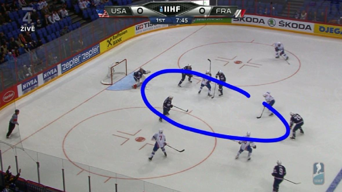 1. gól Francie proti USA