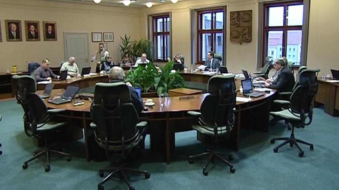 Zasedání na jihlavské radnici