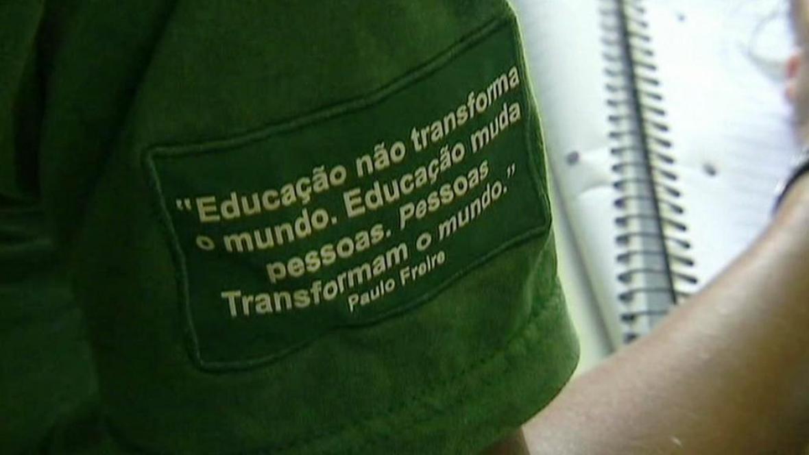 Brazilská školní uniforma