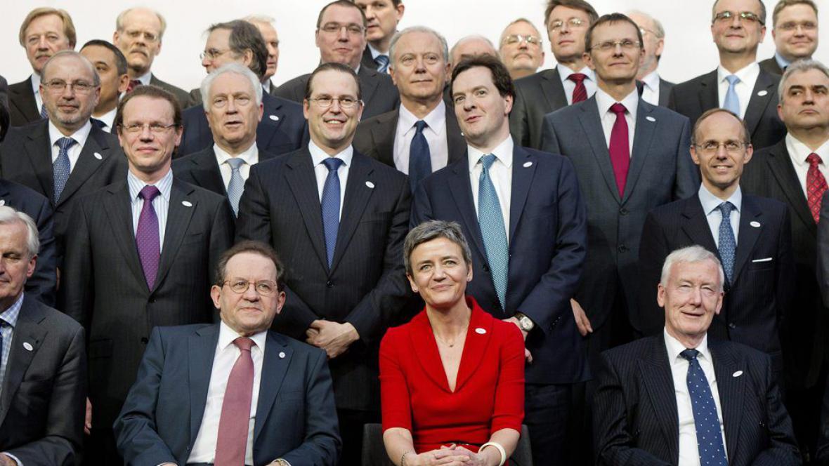 Ecofin 2012 v Bruselu