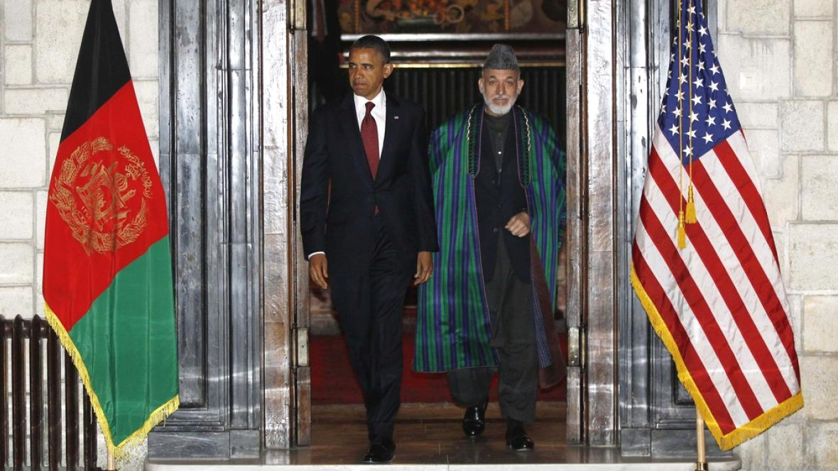 Obama přijel do Afghánistánu podepstat strategickou smlouvu