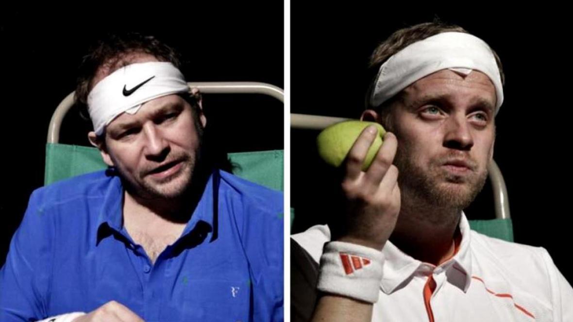 Marek Taclík a Jakub Prachař / Federer - Nadal