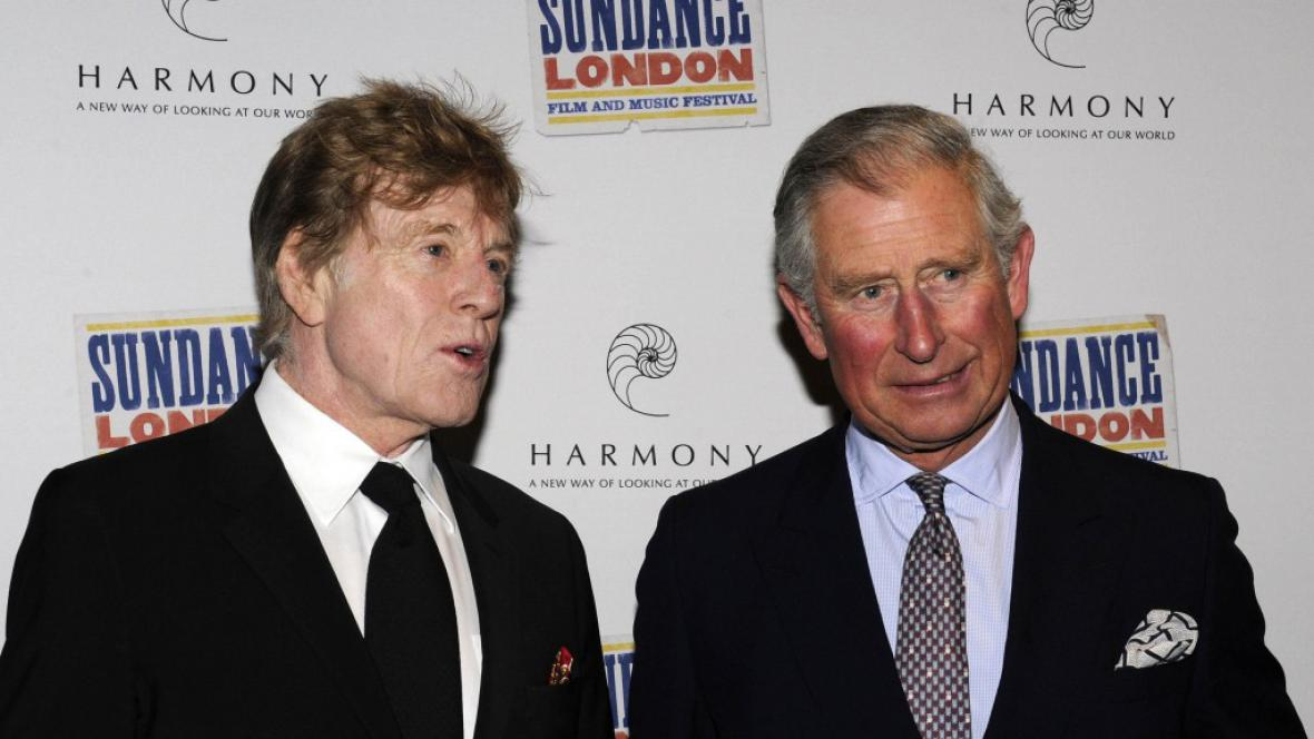 Robert Redford a princ Charles