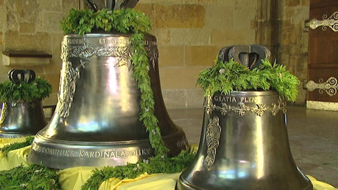 Nové zvony pro katedrálu sv. Víta
