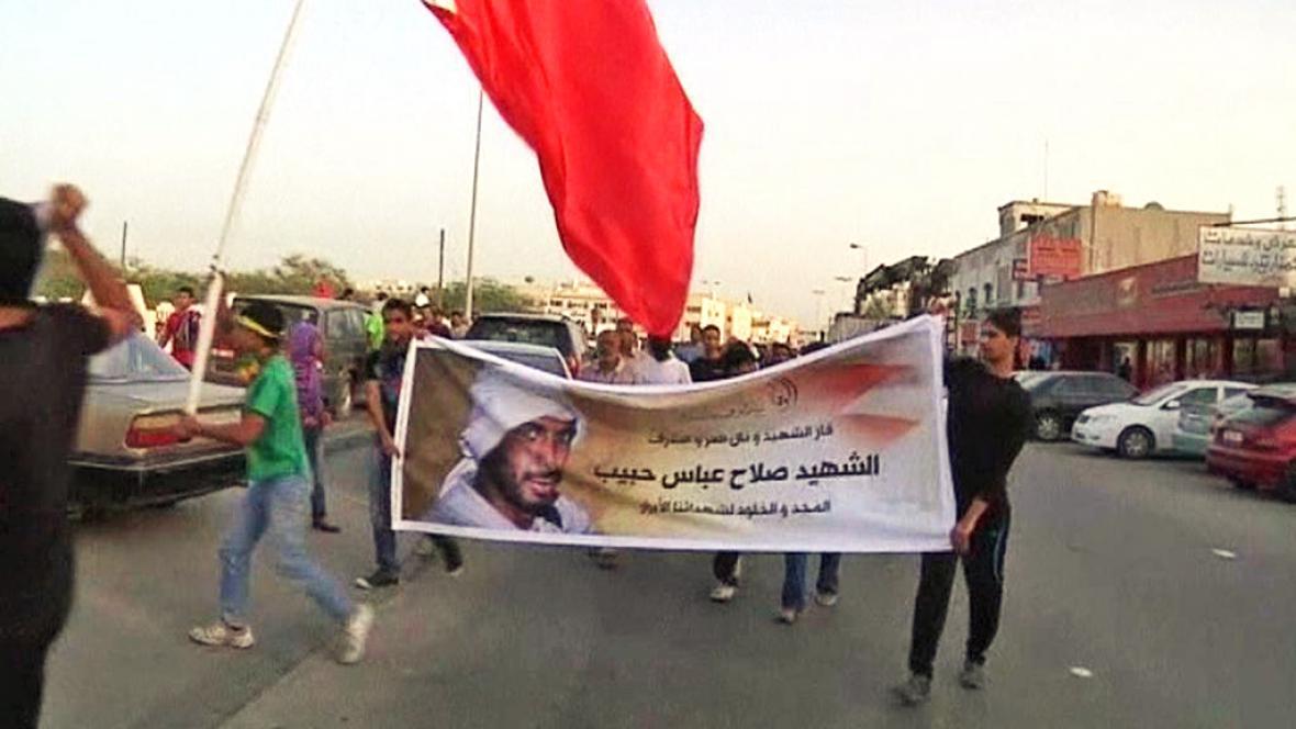 Protesty v Bahrajnu