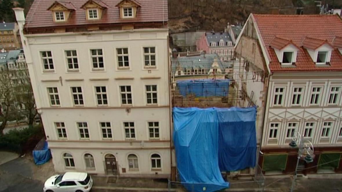 Z cenného domu zbyla jen ruina