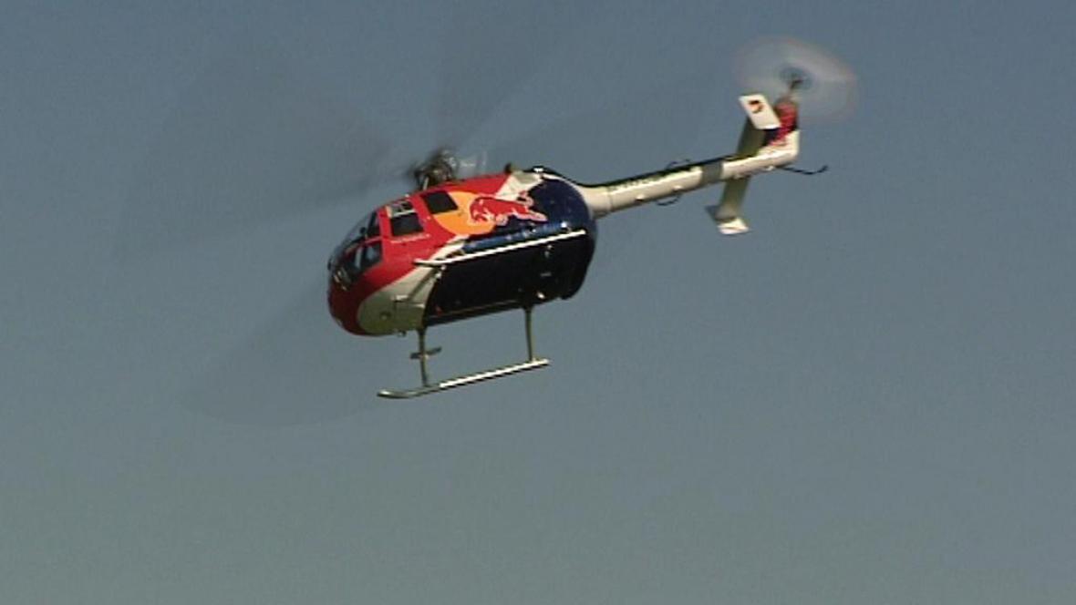 Vrtulník R-44 Raven v akci