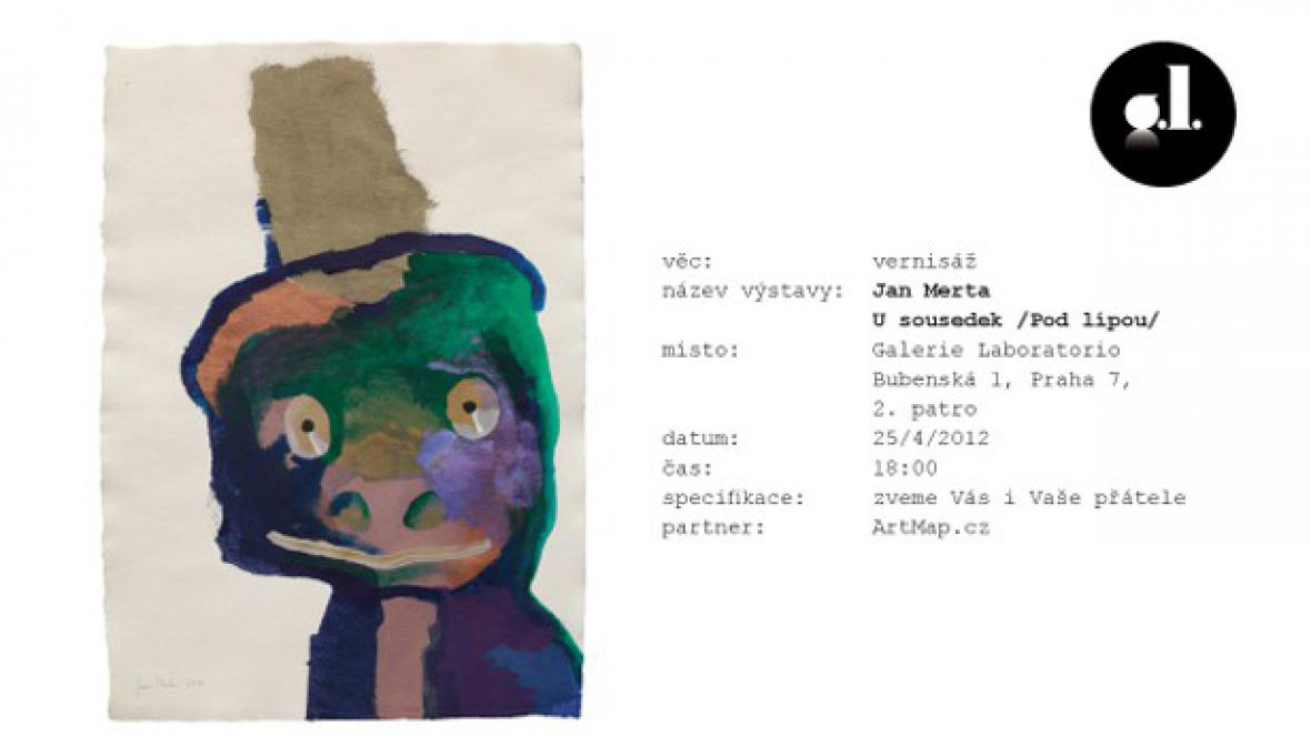 Jan Merta / Laboratorio (pozvánka)