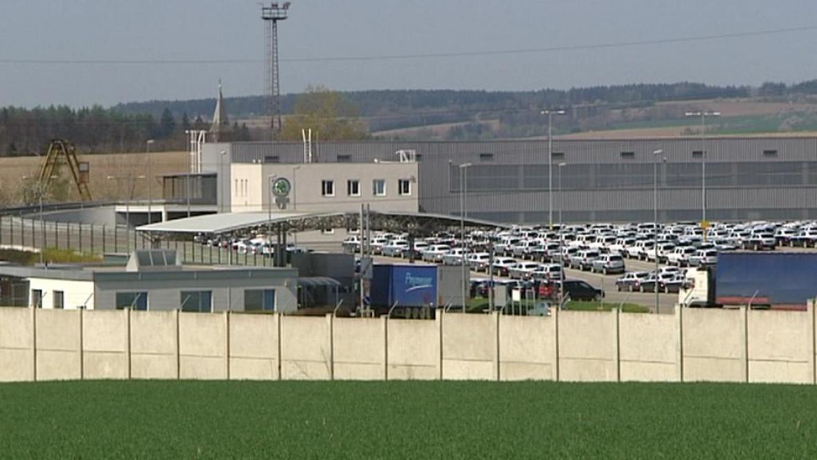 Továrna Škody v Kvasinách