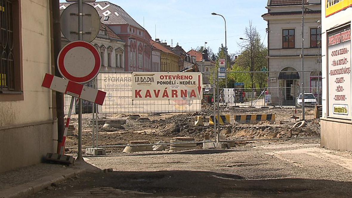 Rozkopané náměstí