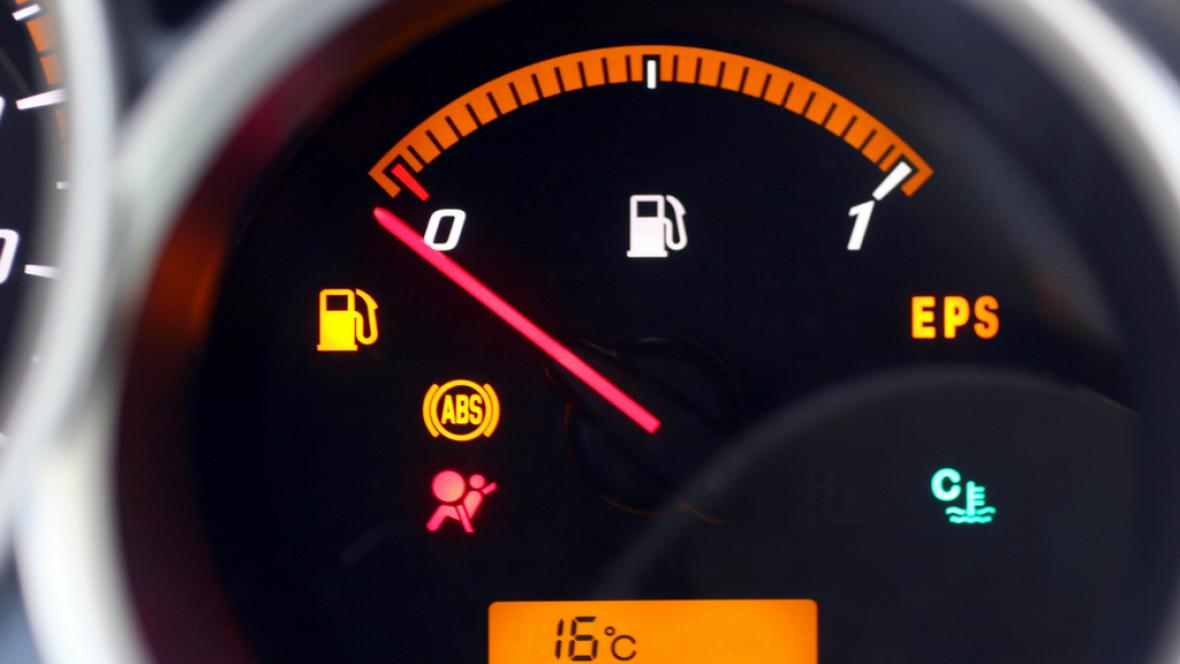 Ukazatel stavu palivové nádrže