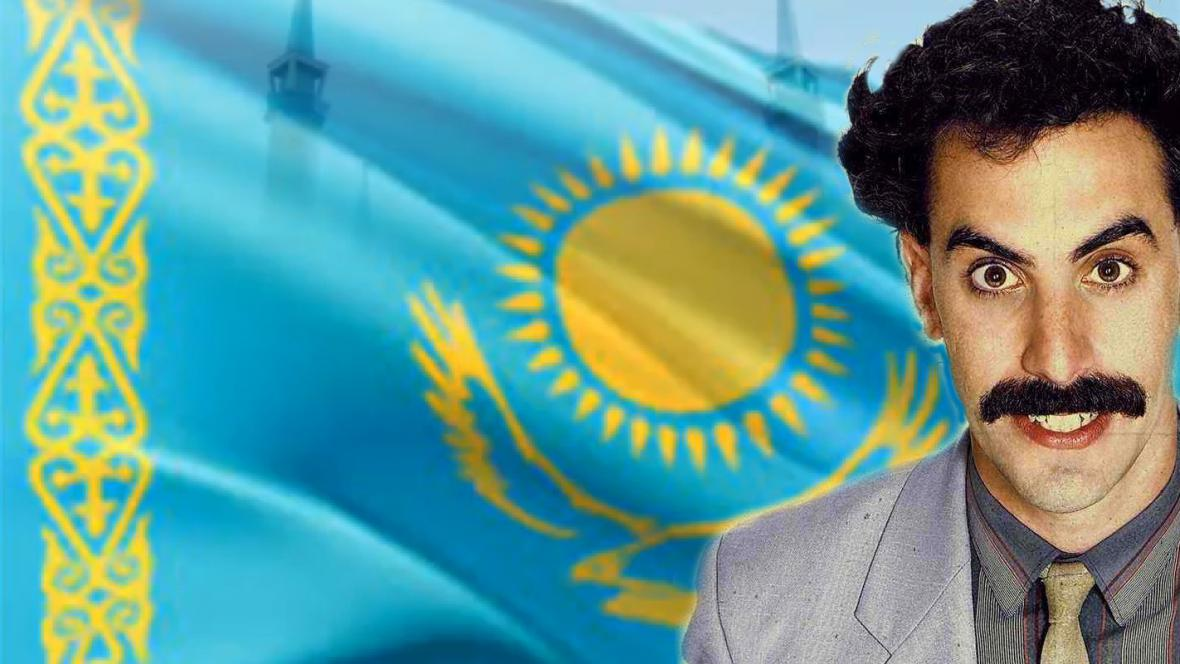 Borat láká do Kazachstánu turisty