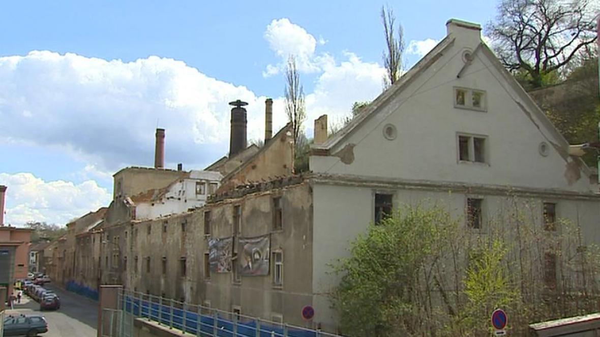 Ruiny roudnického pivovaru
