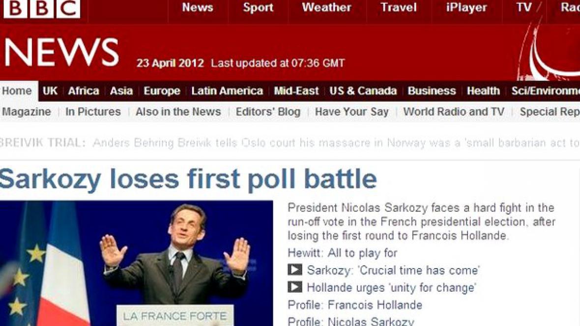 BBC o francouzských volbách