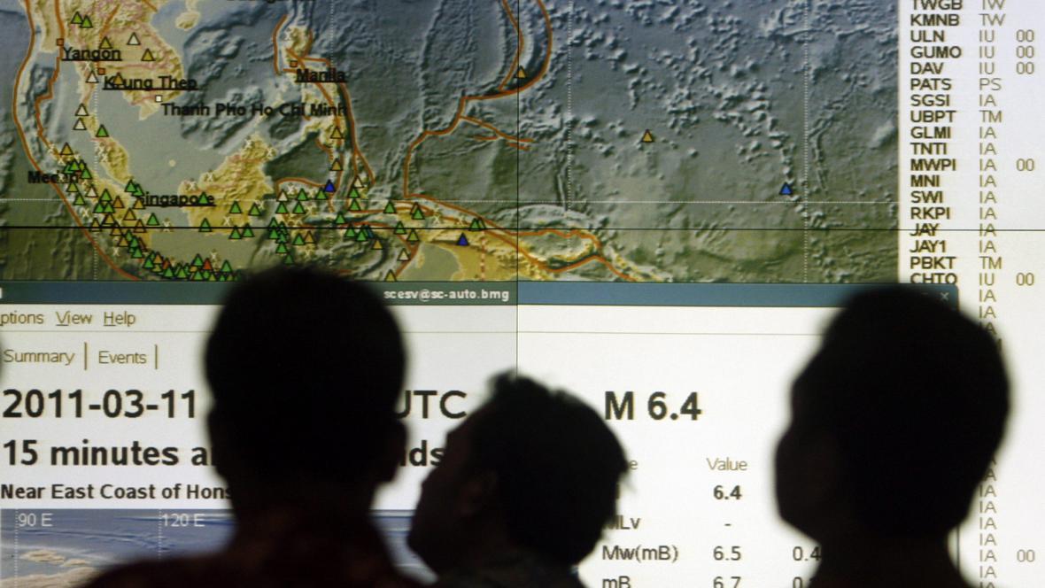 Indonéské centrum pro varování před tsunami