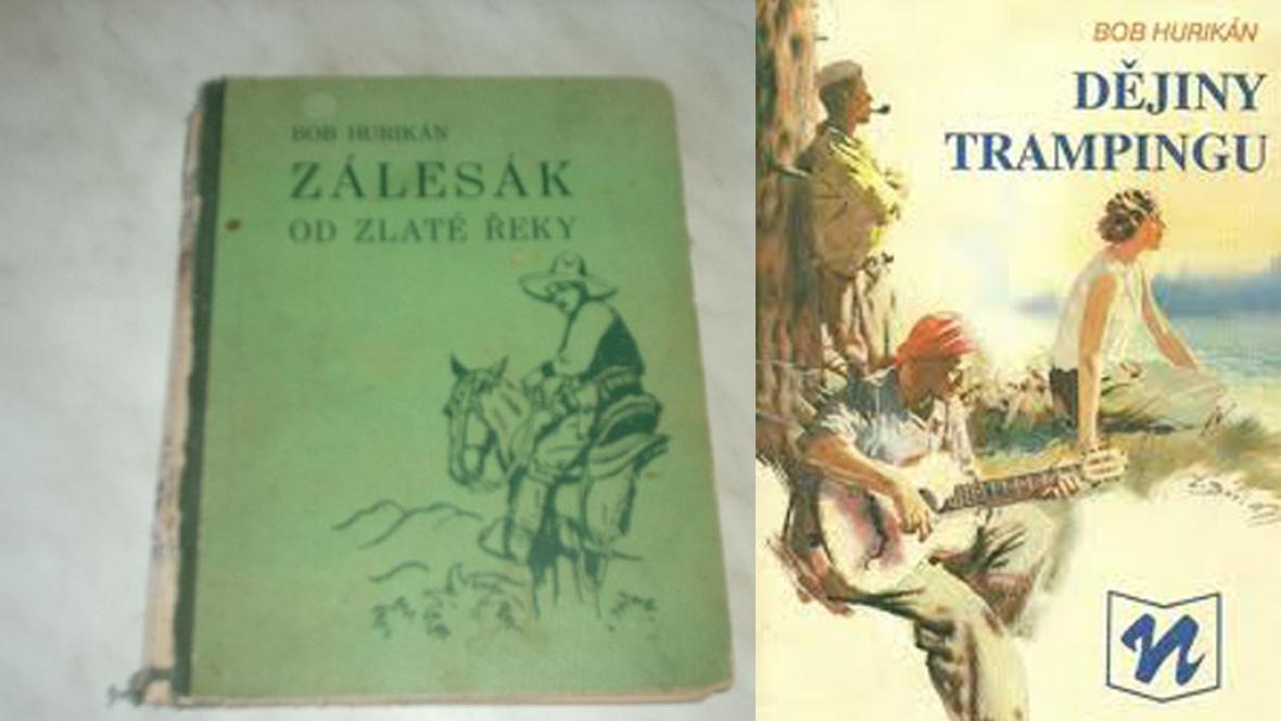 Knihy Boba Hurikána
