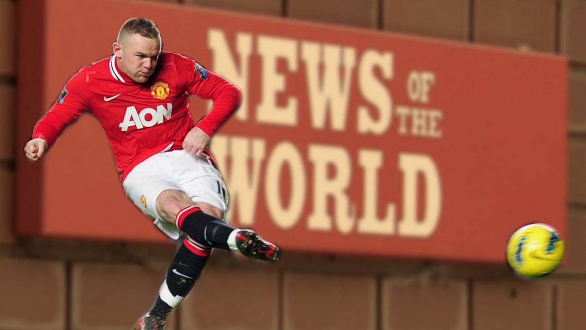 Wayne Rooney žaluje News International kvůli odposlechům