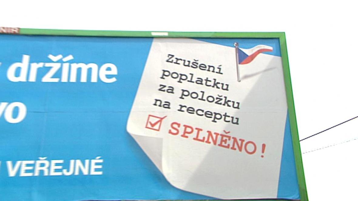 Plakát Věcí veřejných