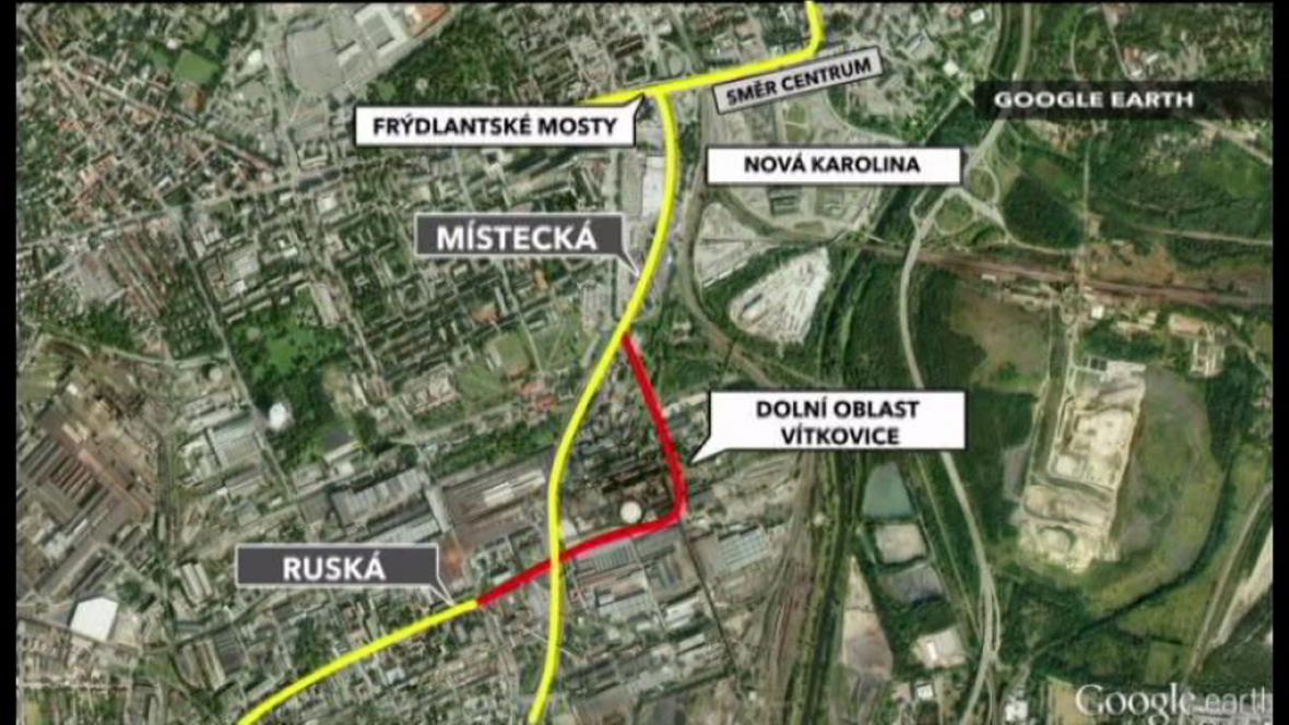 Město postaví novou silnici do centra