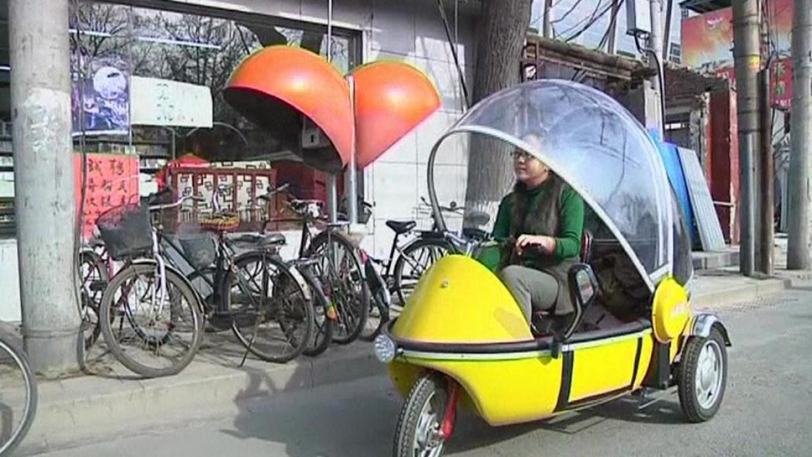 Čínská tříkolka