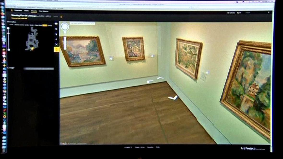Prohlídka muzea on-line