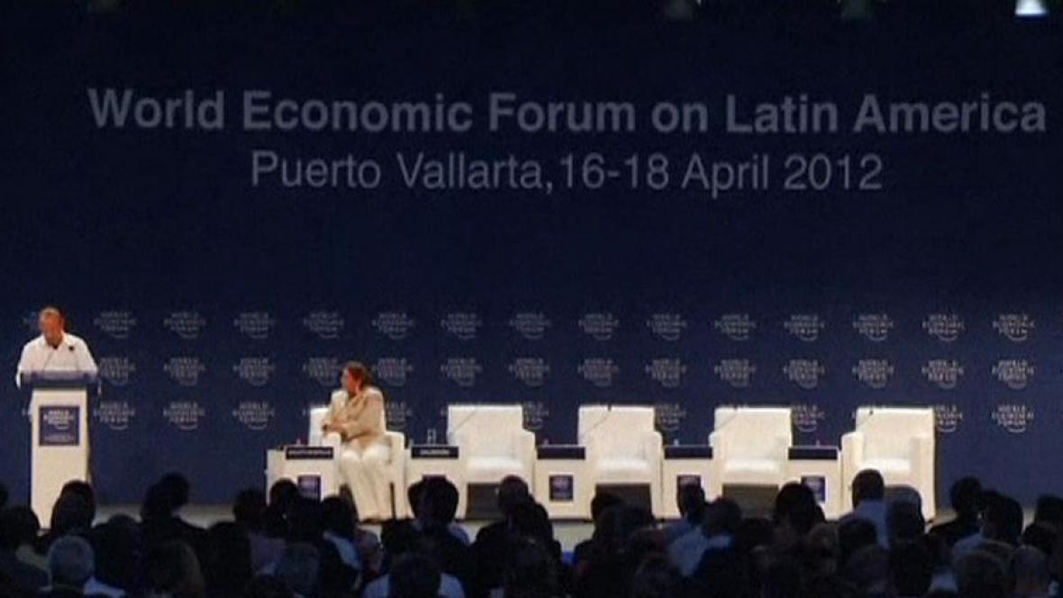 Světové ekonomické fórum v Mexiku