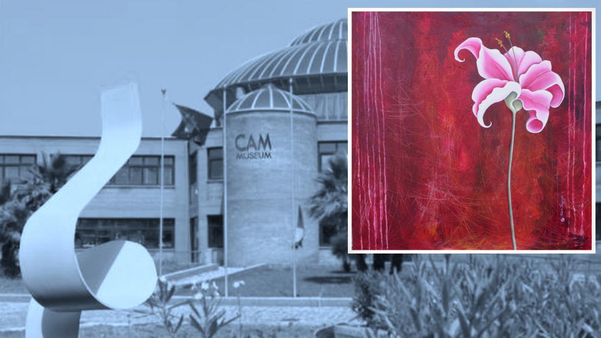 Muzeum CAM a obraz La Promenade od Séverine Bourguignonové