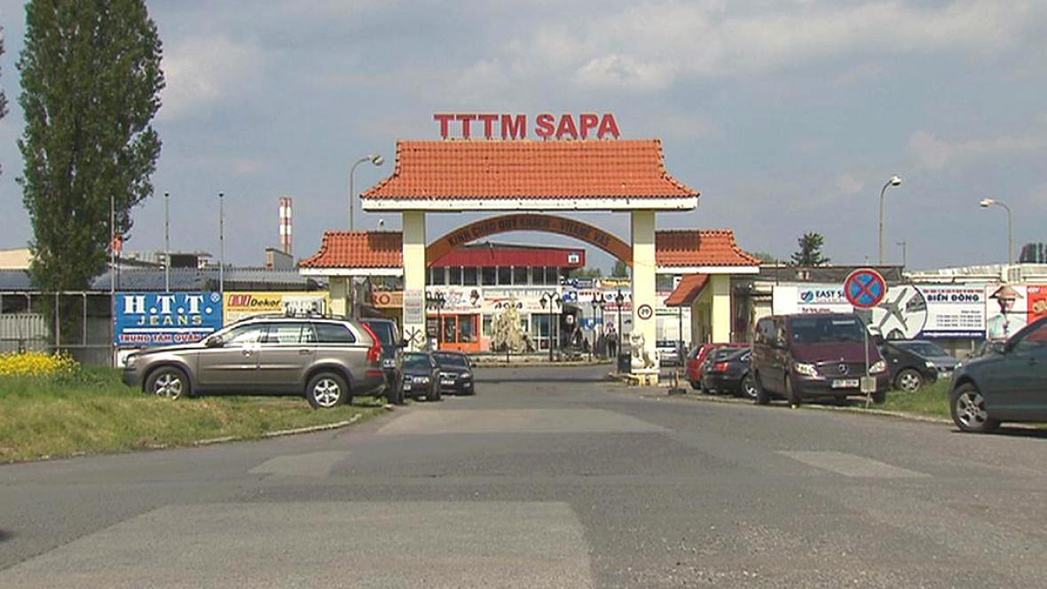 Vietnamská tržnice SAPA v Praze - Libuši