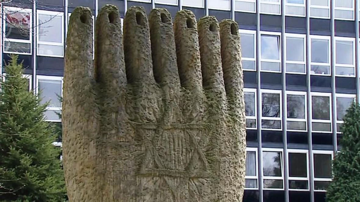 Židovský památník v Českých Budějovicích