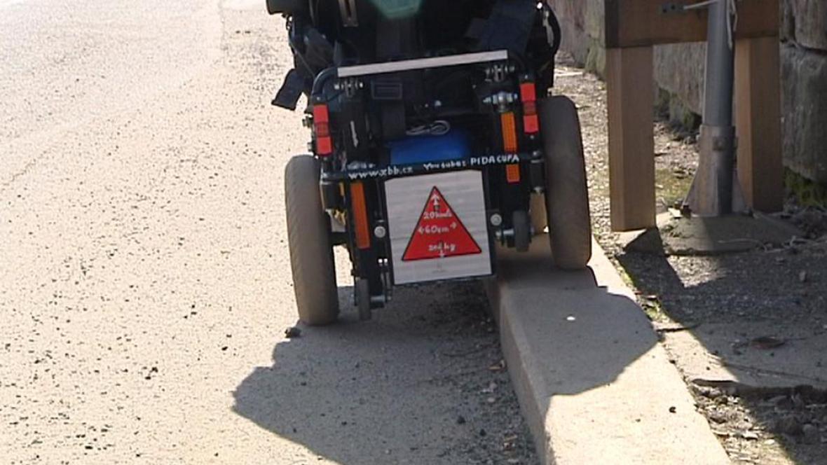 Nový typ invalidního vozíku