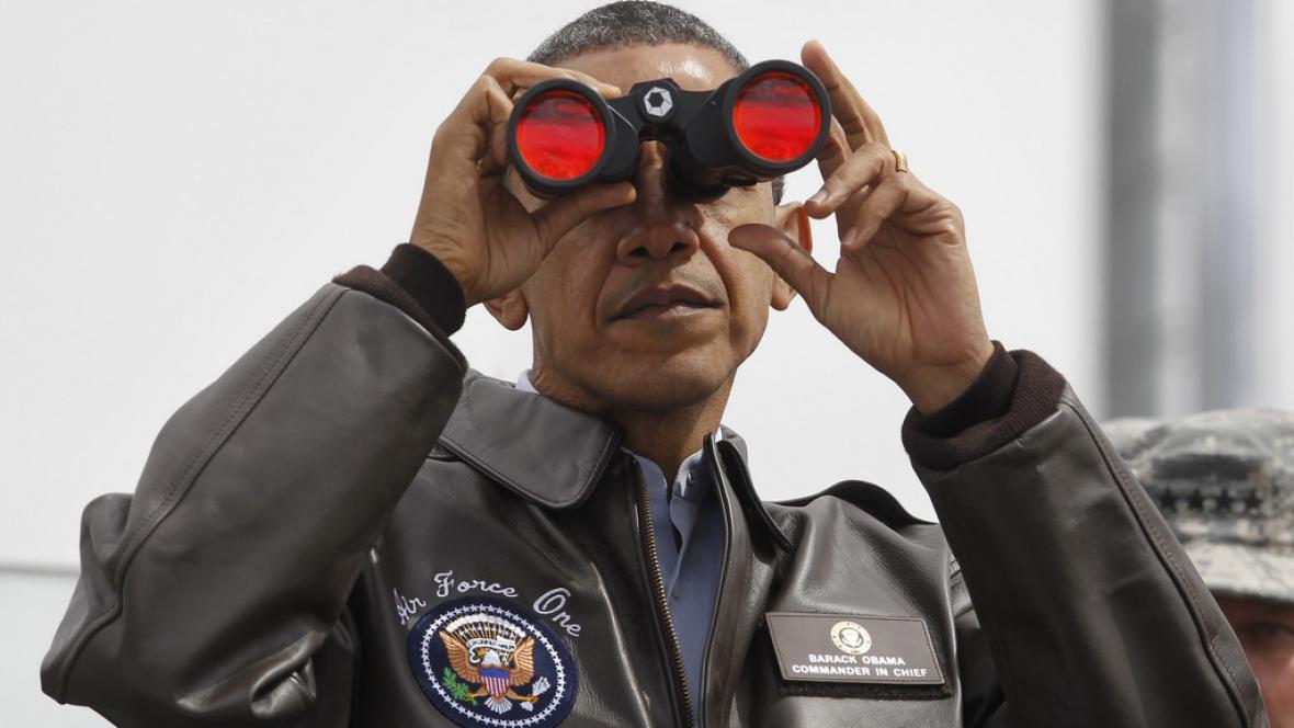 Barack Obama v demilitarizované zóně