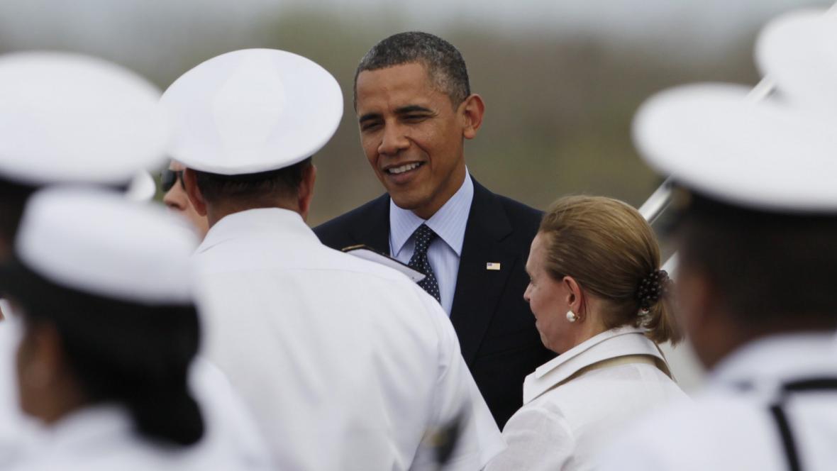Barack Obama v Kolumbii