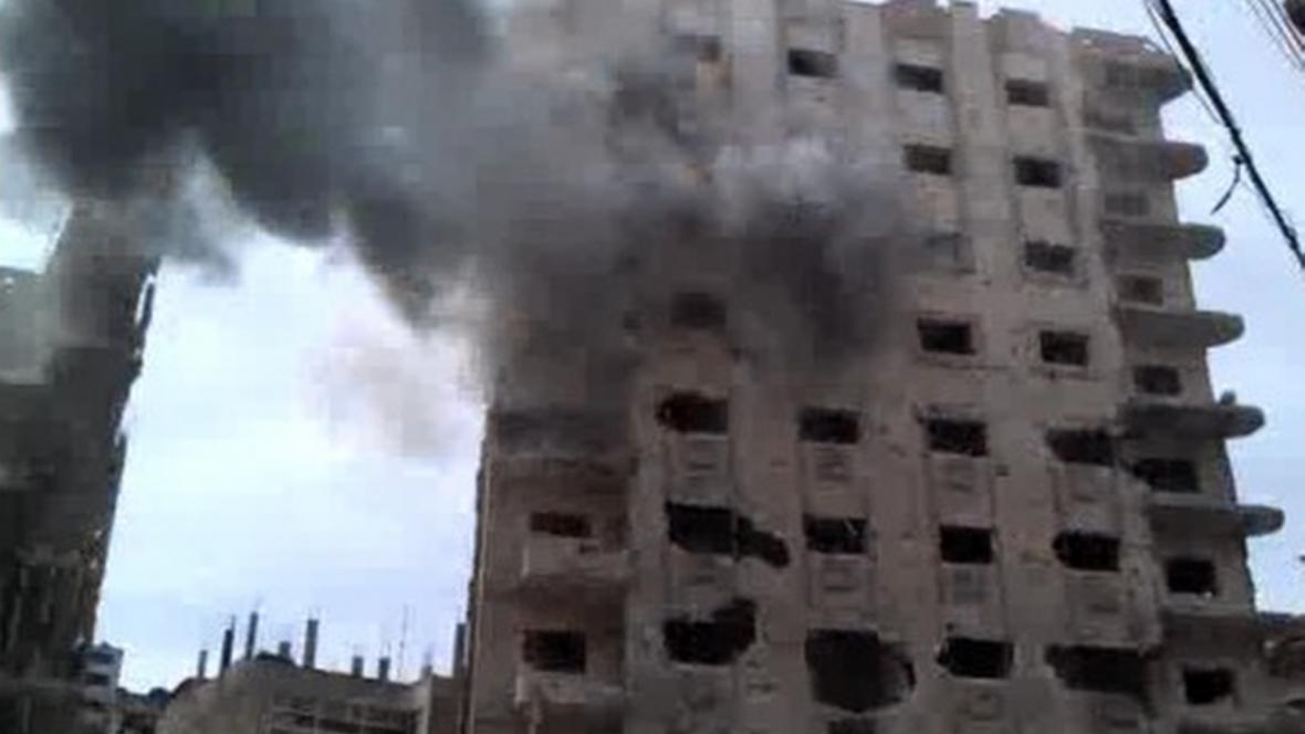 Ostřelování Homsu
