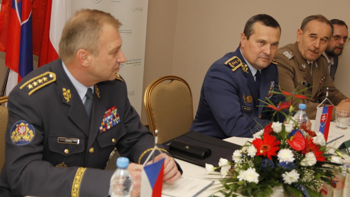 Jednání náčelníků generálních štábů V4