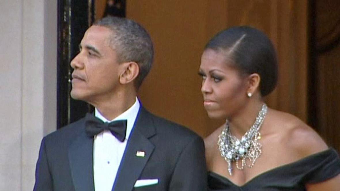 Barack a Michelle Obamovi
