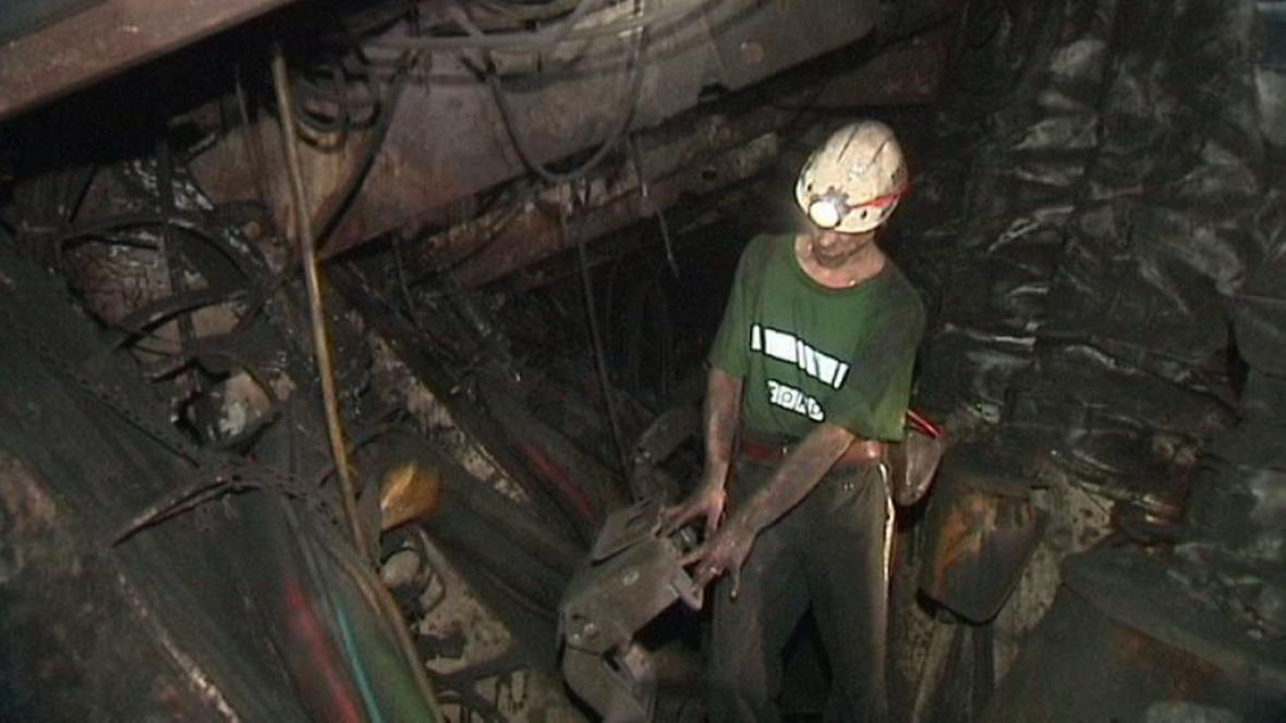 Těžba uhlí na Karvinsku