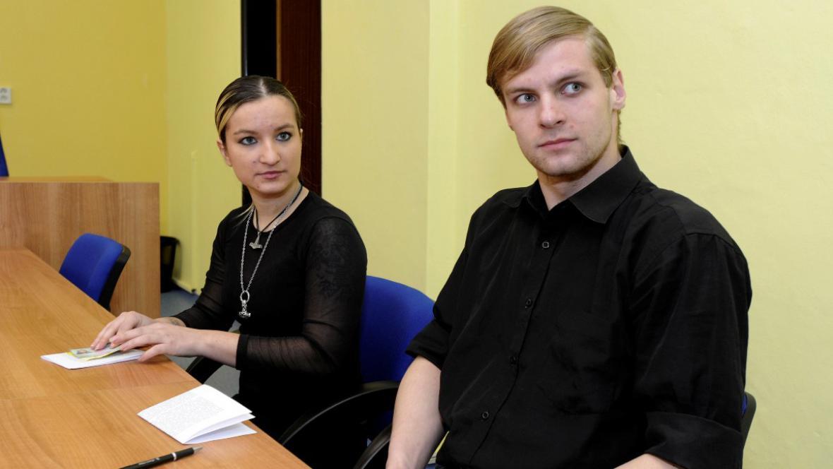 Lucie Šlégrová a David Kundl
