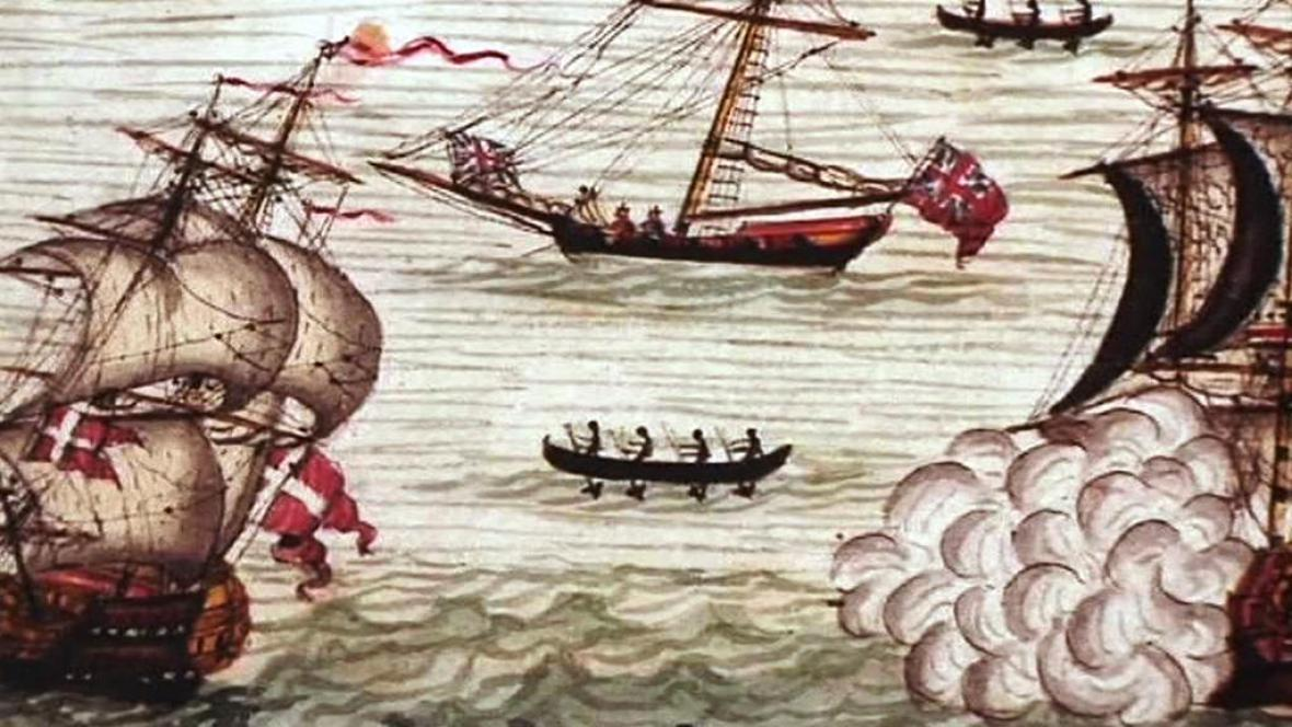 Námořní bitva, 17. století