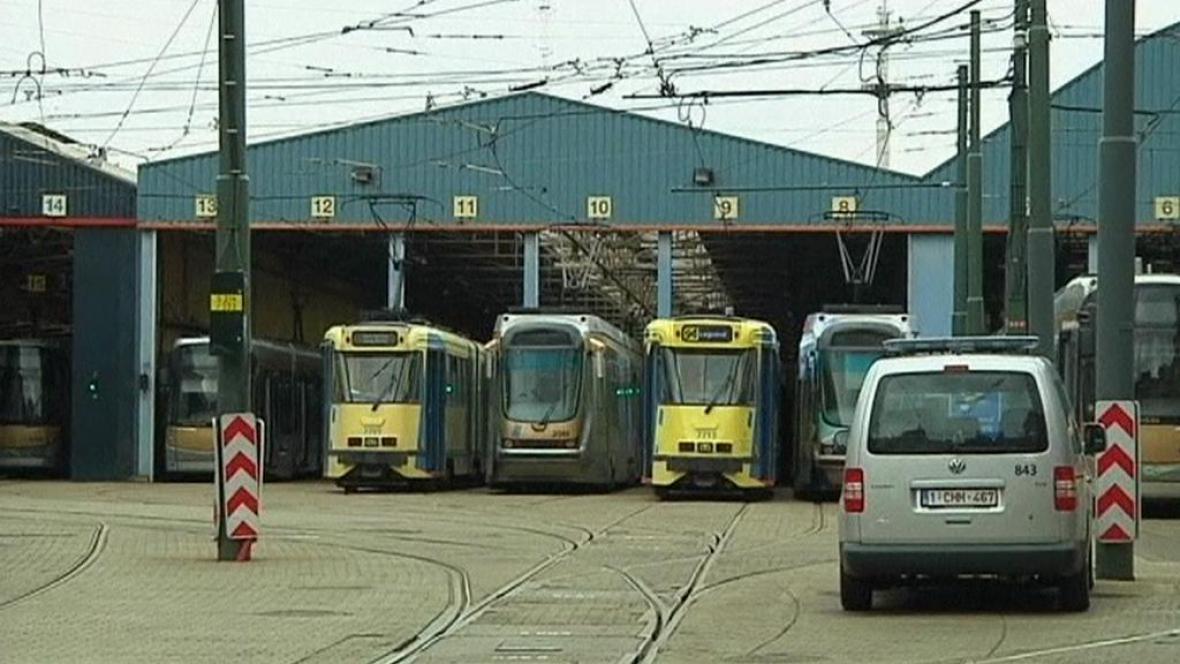 V Bruselu už čtvrtým dnem nejezdí veřejná doprava