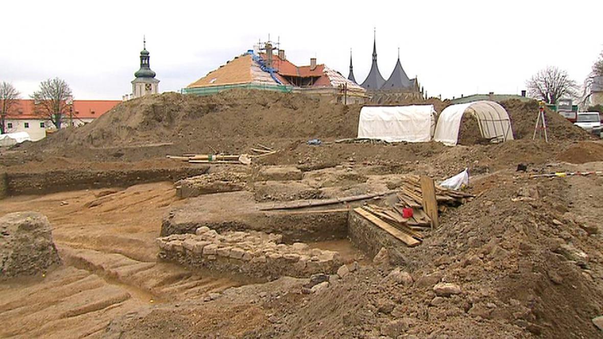 Archeologické vykopávky v Kutné Hoře