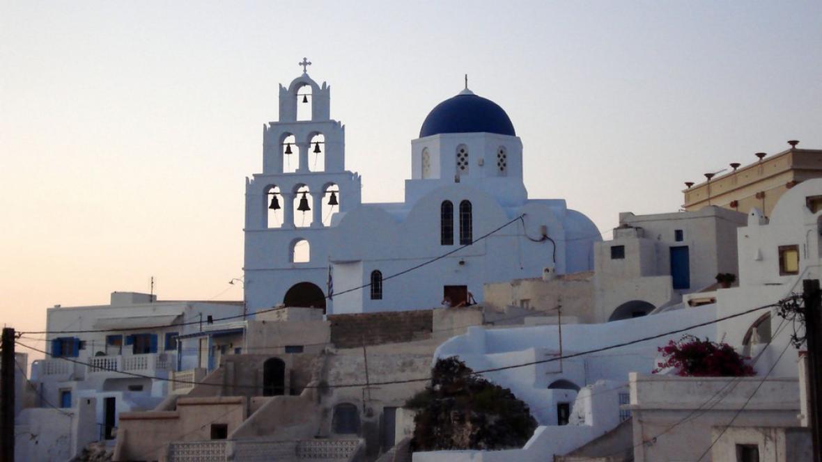 Kostel v Pyrgosu