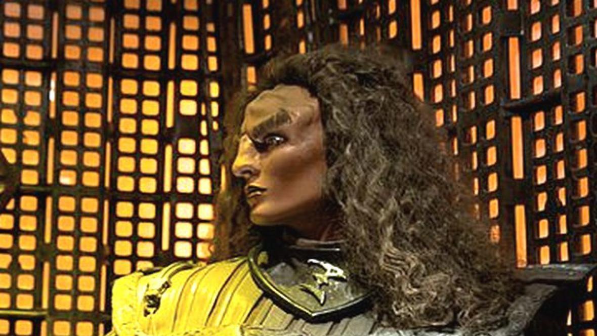 Klingonská žena