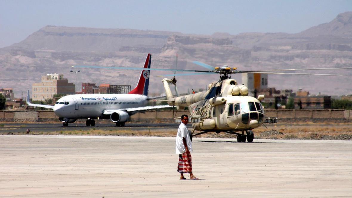 Letiště v Saná
