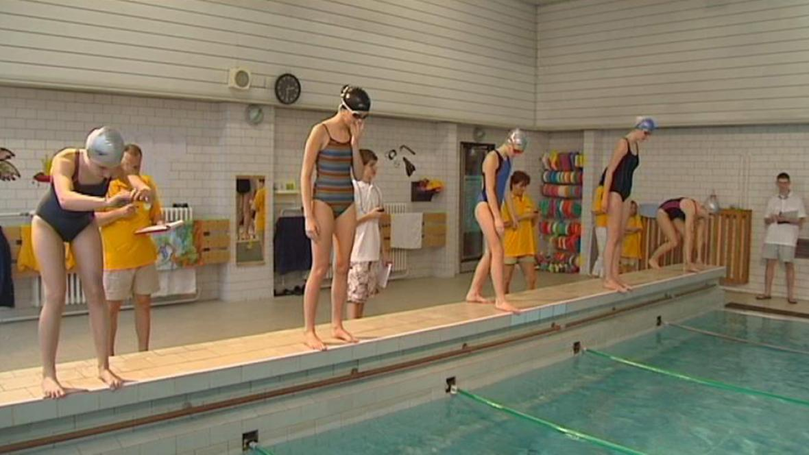 Dětský plavecký festival ve Frýdku-Místku