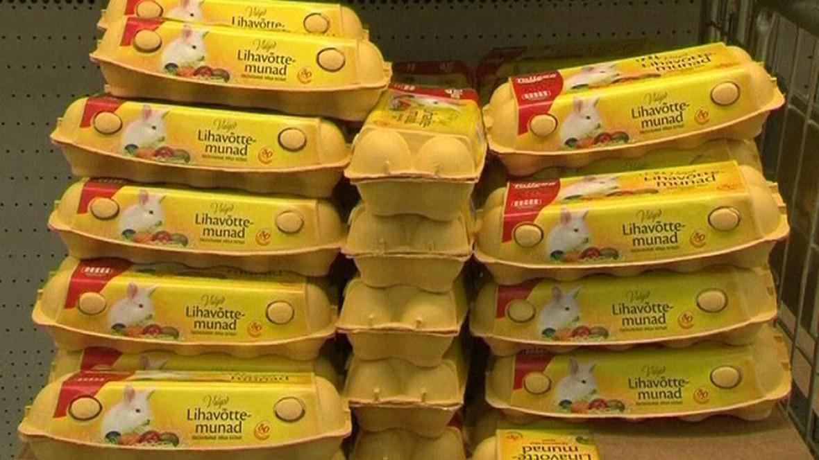 Estonské obchody omezily prodej vajec