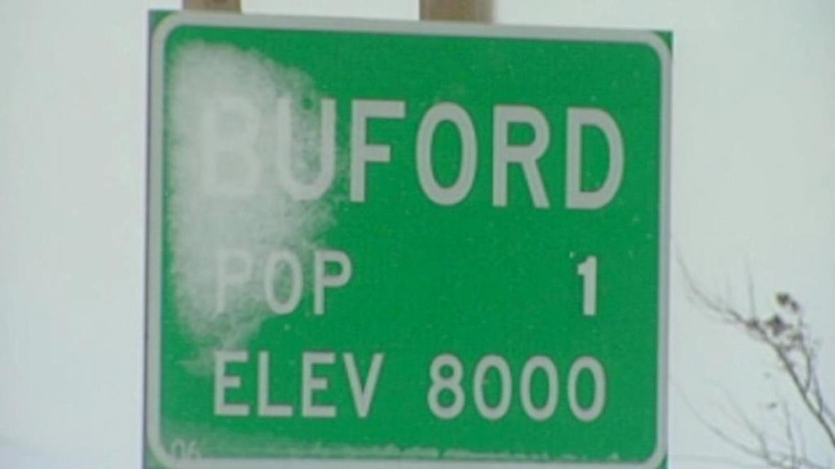 Městečko Buford na prodej